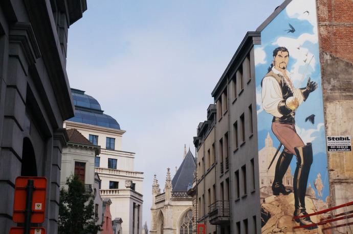 bruxelles-belgique-voyage-tourisme-bande-dessinee-fresque-ville